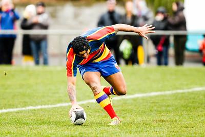 Jubilee Cup Final 2016 rugby union final playe between Tawa v MSP, at Porirua Park, Porirua, New Zealand, on 6 August 2016. Tawa won 20-3.