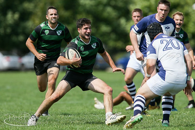 082518. Buffalo Rugby Club vs South Buffalo RFC. DIII and DII. Delaware Park, Buffalo NY
