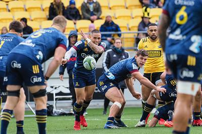 Hurricanes v Highlanders, played at Sky Stadium, Wellington, New Zealand,  12 July 2020.
