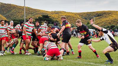 Paremata-Plimmerton  v HOBM, played at Mana, Wellington, New Zealand,  1 August 2020.