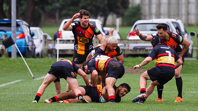 Paremata-Plimmerton v Upper Hutt Rams, played at Ngati Toa Domain, Mana, Wellington, New Zealand, 20 June 2020