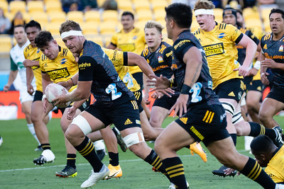 Hurricanes v Chiefs, played in Sky Stadium, Wellington, New Zealand, 20 March 2021