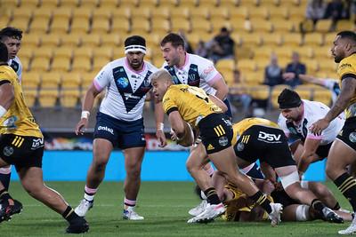 Hurricanes v Rebels,played at Sky Stadium, Wellington, New Zealand,  21 May 2021.