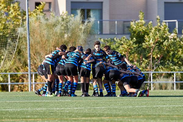 AD Ingenieros Industriales Las Rozas Rugby Negro vs CRC Pozuelo B