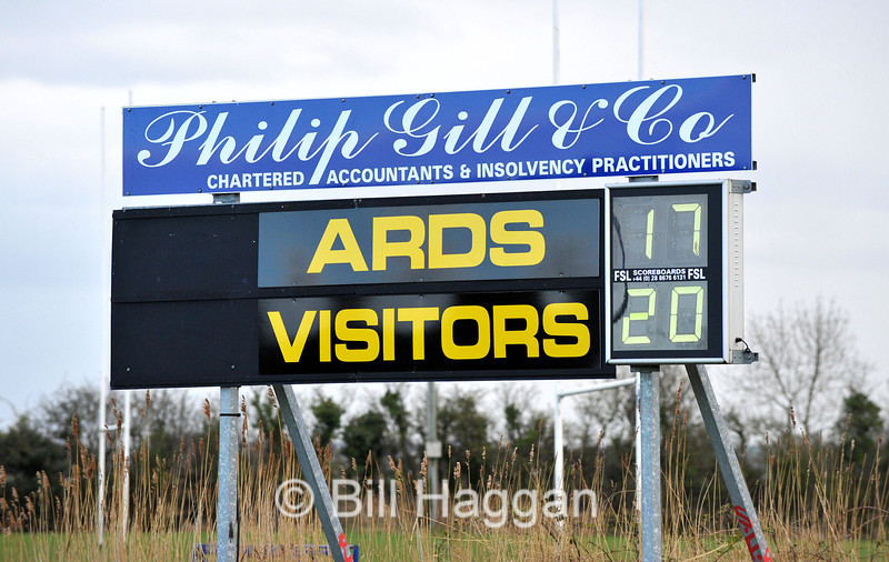 Ards 1sts-v-Sunday's Well. 2/4/2011
