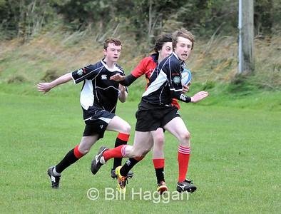 Ards U15's-v-Ballyclare, 22/10/2011