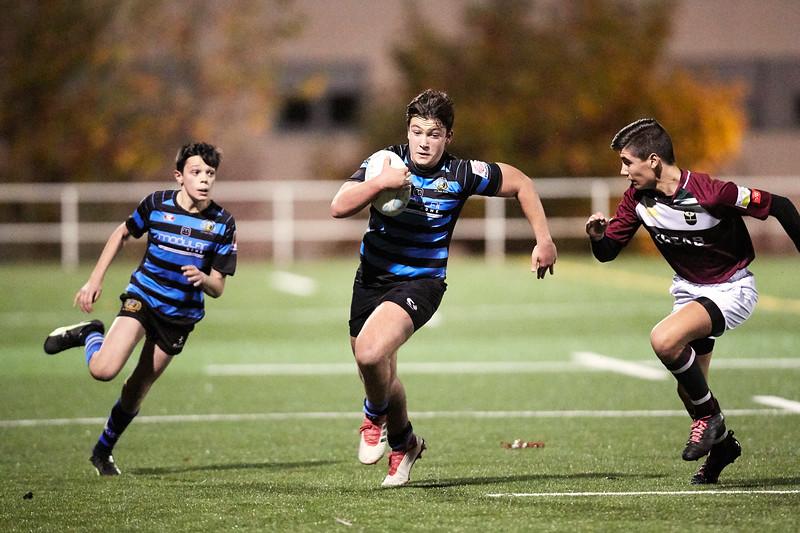 I.Industriales Azul vs Kreab Alcobendas Rugby Granate: 38-19