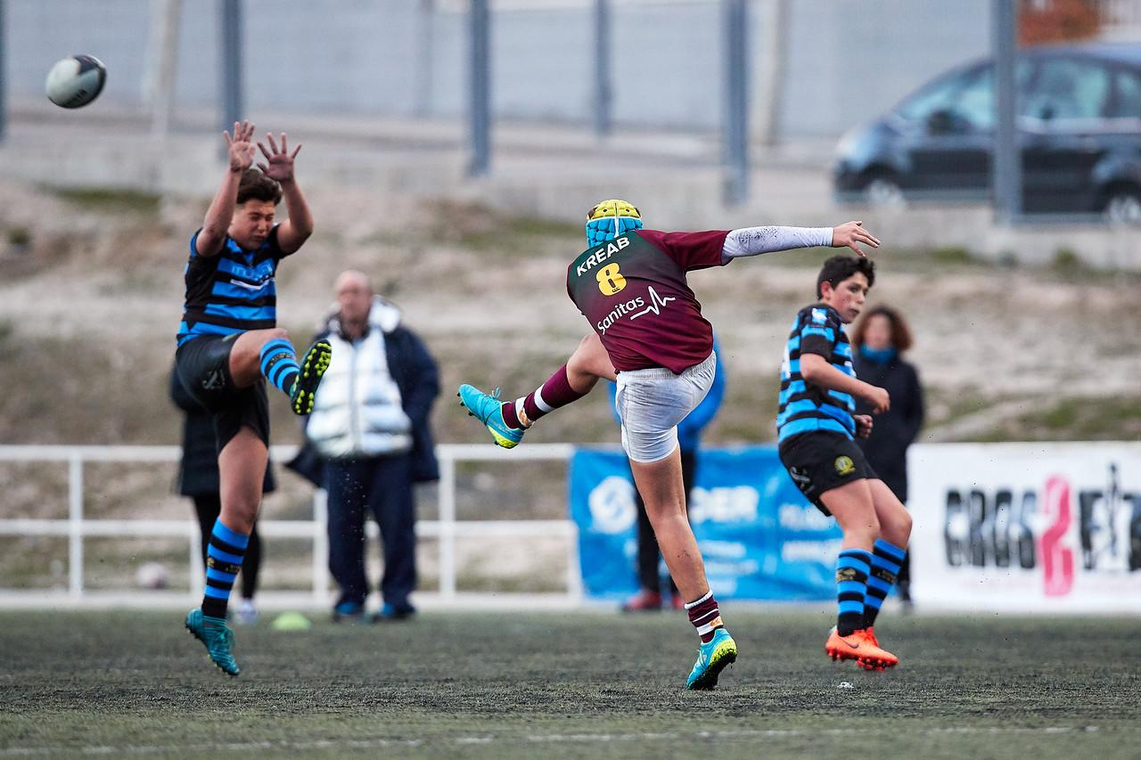Industriales Azul vs Kreab Alcobendas Rugby Granate: 19-52