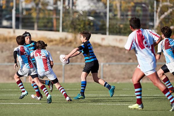 San Isidro Fuencarral vs Industriales Azul: 17-22