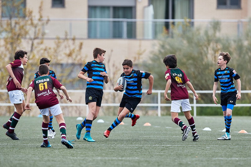 I.Industriales Negro vs Kreab Alcobendas Rugby Azul