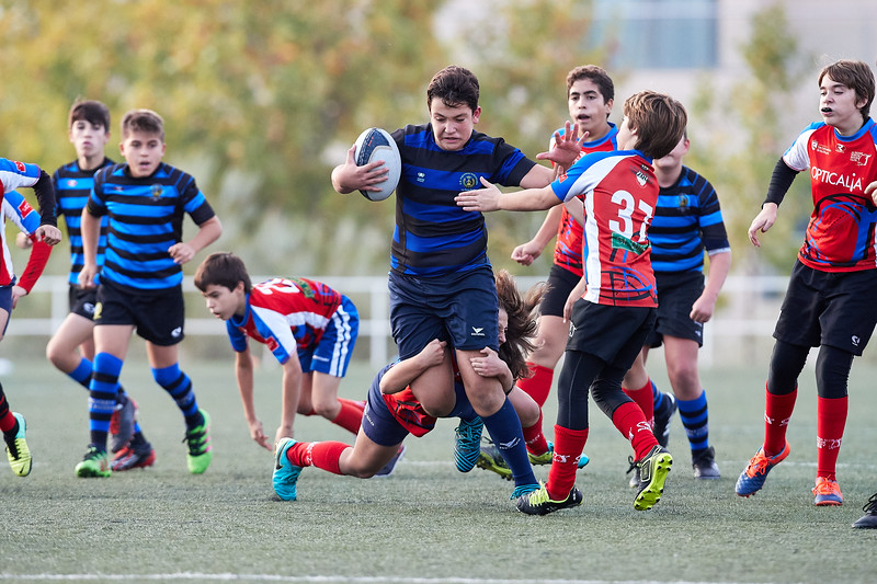 Industriales Negro vs XV Sanse Scrum: 29-20
