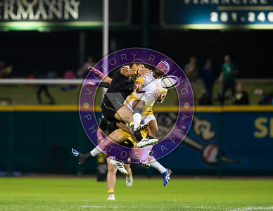 Malacchi Esdale Houston SaberCats vs New Orleans Gold  Feb 24, 2018 at Constellation Field
