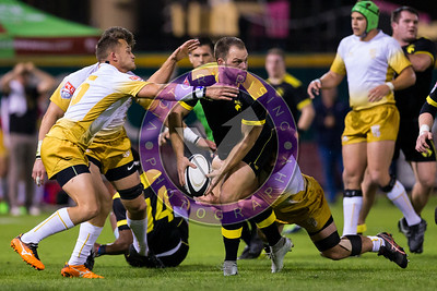 Houston SaberCats vs New Orleans Gold  Feb 24, 2018 at Constellation Field