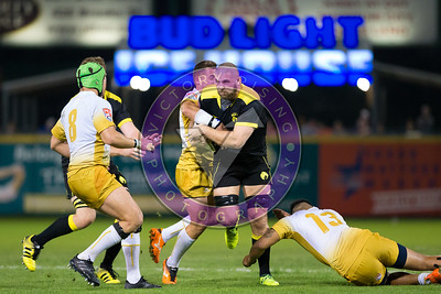 Kyle Sumsion Houston SaberCats vs New Orleans Gold  Feb 24, 2018 at Constellation Field