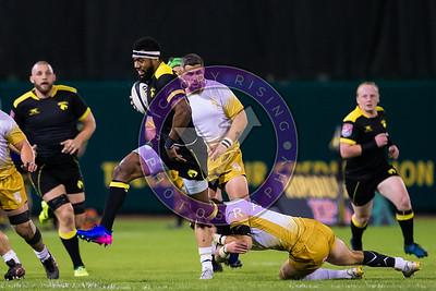 Osea Kolinisau Houston SaberCats vs New Orleans Gold  Feb 24, 2018 at Constellation Field