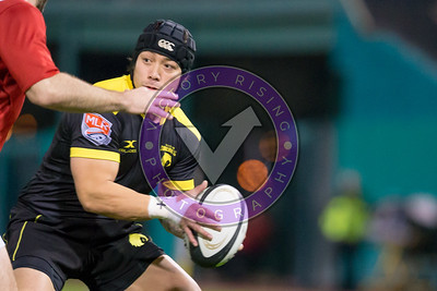 Zach Pangelinan #15 Houston SaberCats vs New York Athletic Club Feb, 17, 2018 at Constellation Field