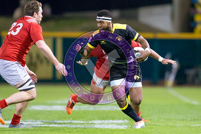 Josua Vici #11  Houston SaberCats vs New York Athletic Club Feb, 17, 2018 at Constellation Field