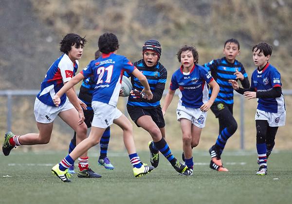 Industriales Azul vs Liceo Blanco: 30-0