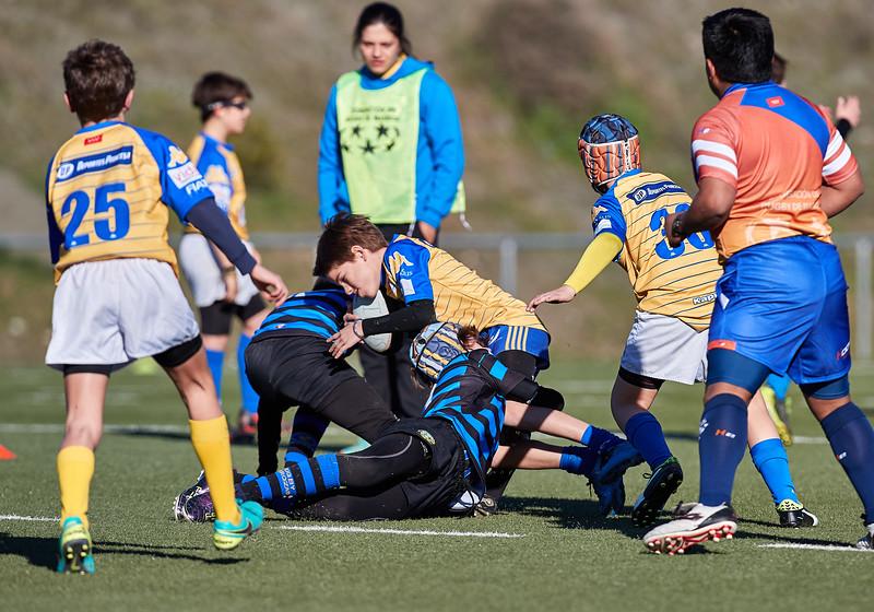 CRC Pozuelo Azul vs Industriales Azul: 5-35