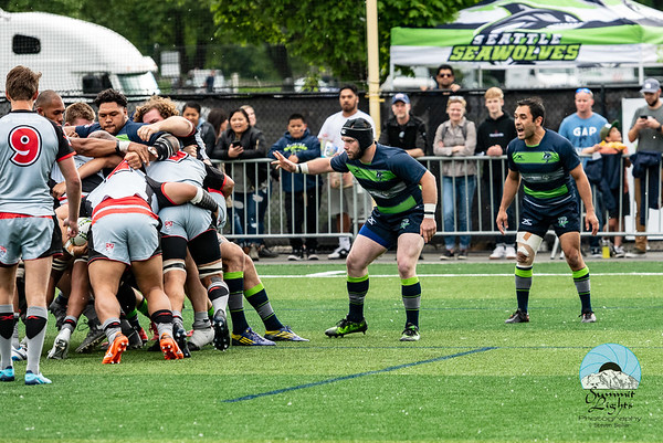 Utah Warriors at Seattle Seawolves Week 5 2018