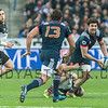 PARIS, FRANCE - NOVEMBER 26: Kevin Gourdon of France during the international friendly test match between France and New Zealand (All Blacks) at Stade de France on November 26, 2016 in Saint-Denis near Paris, France.
