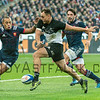 PARIS, FRANCE - NOVEMBER 26: Israel Dagg of New Zealand during the international friendly test match between France and New Zealand (All Blacks) at Stade de France on November 26, 2016 in Saint-Denis near Paris, France.