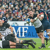 PARIS, FRANCE - NOVEMBER 26: TJ Perenara of New Zealand during the international friendly test match between France and New Zealand (All Blacks) at Stade de France on November 26, 2016 in Saint-Denis near Paris, France.