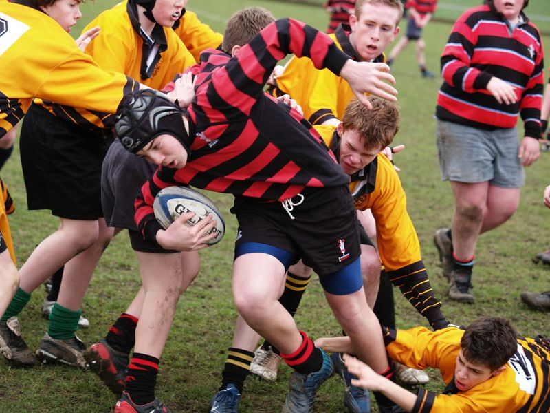 Sam grinds through the opposition