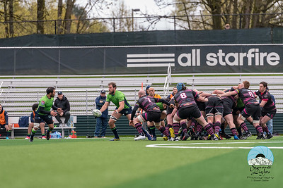 Seattle Seawolves Scrimmage the Prairie Wolfpack