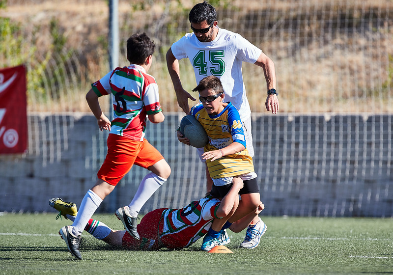 (Sub12) - CRC Pozuelo vs Hernani: 5-15