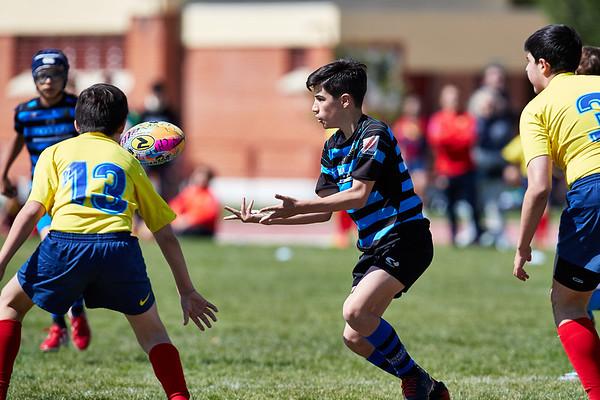 Industriales B vs AV Rugby Barça: 5-19 (Grupo A)
