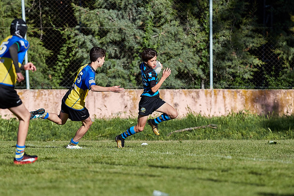 Industriales A vs Castelldefels: 5-14 (Bronce 5° - 8°)