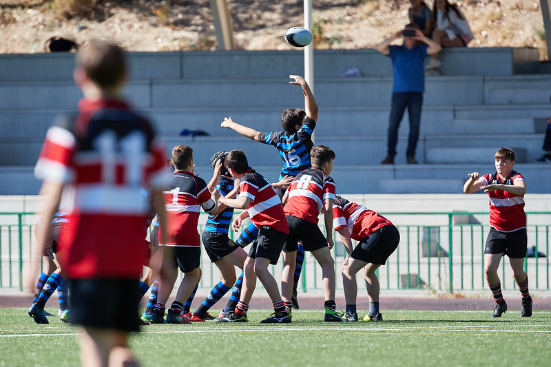 Wicklow R.C vs Industriales Azul (S14): 32-27