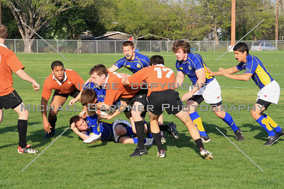 Rugby - UT VS St Edward's - 3:16:10 | Shot # IMG_5415