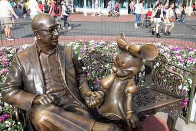 Walt and Minnie