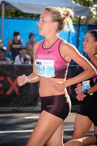 Susan Kuijken - 2013 Noosa Women's Asics 5k Bolt Run - 2013 Super Saturday at the Noosa Triathlon Multi Sport Festival, Noosa Heads, Sunshine Coast, Queensland, Australia. Camera 1. Photos by Des Thureson - http://disci.smugmug.com