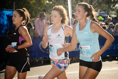 Kelly Ann Perkins, Sophie Malowiecki, Lilli BURDON - 2013 Noosa Women's Asics 5k Bolt Run - 2013 Super Saturday at the Noosa Triathlon Multi Sport Festival, Noosa Heads, Sunshine Coast, Queensland, Australia. Camera 1. Photos by Des Thureson - http://disci.smugmug.com