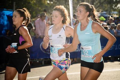 Kelly Ann Perkins, Sophie Malowiecki, Lilli BURDON - 2013 Noosa Women's Asics 5k Bolt Run - 2013 Super Saturday at the Noosa Triathlon Multi Sport Festival, Noosa Heads, Sunshine Coast, Queensland, Australia. Camera 1. Photos by Des Thureson - http://disci.smugmug.com