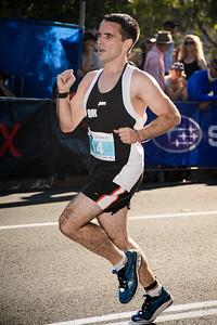 Peter Bracken - 2013 Noosa Men's Asics 5k Bolt Run - Super Saturday at the Noosa Triathlon Multi Sport Festival, Noosa Heads, Sunshine Coast, Queensland, Australia. Camera 1. Photos by Des Thureson - http://disci.smugmug.com