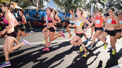 Susan Kuijken, Milly Clark, Melissa Vandewater - 2013 Noosa Women's Asics 5k Bolt Run - 2013 Super Saturday at the Noosa Triathlon Multi Sport Festival, Noosa Heads, Sunshine Coast, Queensland, Australia. Camera 1. Photos by Des Thureson - http://disci.smugmug.com