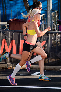 Clare Geraghty - 2013 Noosa Women's Asics 5k Bolt Run - 2013 Super Saturday at the Noosa Triathlon Multi Sport Festival, Noosa Heads, Sunshine Coast, Queensland, Australia. Camera 1. Photos by Des Thureson - http://disci.smugmug.com