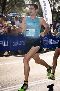 Malcolm Hicks - 2013 Noosa Men's Asics 5k Bolt Run - Super Saturday at the Noosa Triathlon Multi Sport Festival, Noosa Heads, Sunshine Coast, Queensland, Australia. Camera 1. Photos by Des Thureson - http://disci.smugmug.com