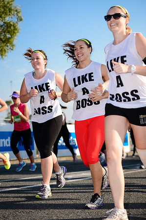 Like a Boss - 2013 Sunday Mail Suncorp Bridge to Brisbane Fun Run; Sir Leo Hielscher Bridge (Gateway Bridge) to RNA Showgrounds; 1 September. Camera 1. Photos by Des Thureson:  http://disci.smugmug.com.