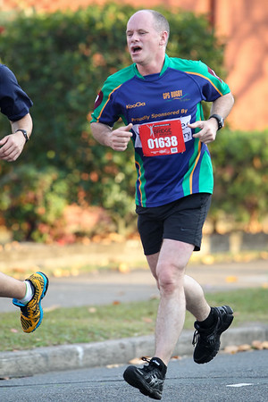 Queensland Premier Campbell Newman - 2013 Sunday Mail Suncorp Bridge to Brisbane Fun Run; Sir Leo Hielscher Bridge (Gateway Bridge) to RNA Showgrounds; 1 September. Camera 2. Photos by Des Thureson:  http://disci.smugmug.com.