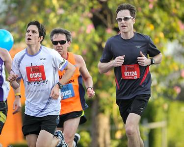 2013 Sunday Mail Suncorp Bridge to Brisbane Fun Run; Sir Leo Hielscher Bridge (Gateway Bridge) to RNA Showgrounds; 1 September. Camera 2. Photos by Des Thureson:  http://disci.smugmug.com.