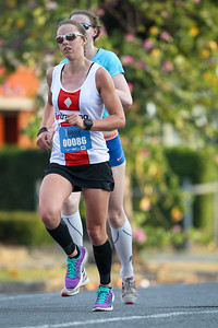 2013 Sunday Mail Suncorp Bridge to Brisbane Fun Run; Sir Leo Hielscher Bridge (Gateway Bridge) to RNA Showgrounds; 1 September. Camera 2. Photos by Des Thureson:  http://disci.smugmug.com.