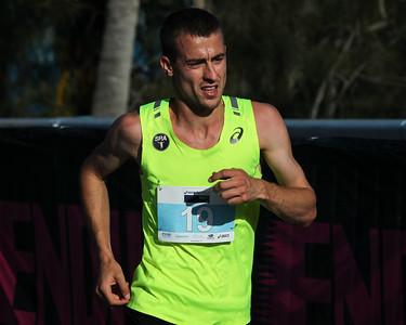 Brad Milosevic - ASICS Noosa Bolt (Noosa 5k Bolt) - 2015 Super Saturday at the Noosa Triathlon Multi Sport Festival, Noosa Heads, Sunshine Coast, Queensland, Australia. Camera 2. Photos by Des Thureson - http://disci.smugmug.com