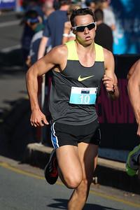 Nick Dewar - ASICS Noosa Bolt (Noosa 5k Bolt) - 2015 Super Saturday at the Noosa Triathlon Multi Sport Festival, Noosa Heads, Sunshine Coast, Queensland, Australia. Camera 2. Photos by Des Thureson - http://disci.smugmug.com