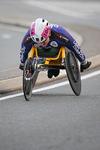 Wheelchair Athlete - 2017 Sunday Mail Brisbane to Brisbane Fun Run, Sunday 27 August; Queensland, Australia. Camera 2. Photos by Des Thureson - http://disci.smugmug.com