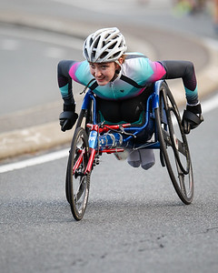Wheelchair Athlete - 2017 Sunday Mail Brisbane to Brisbane Fun Run, Sunday 27 August; Queensland, Australia. Camera 2. Photos by Des Thureson - http://disci.smugmug.com